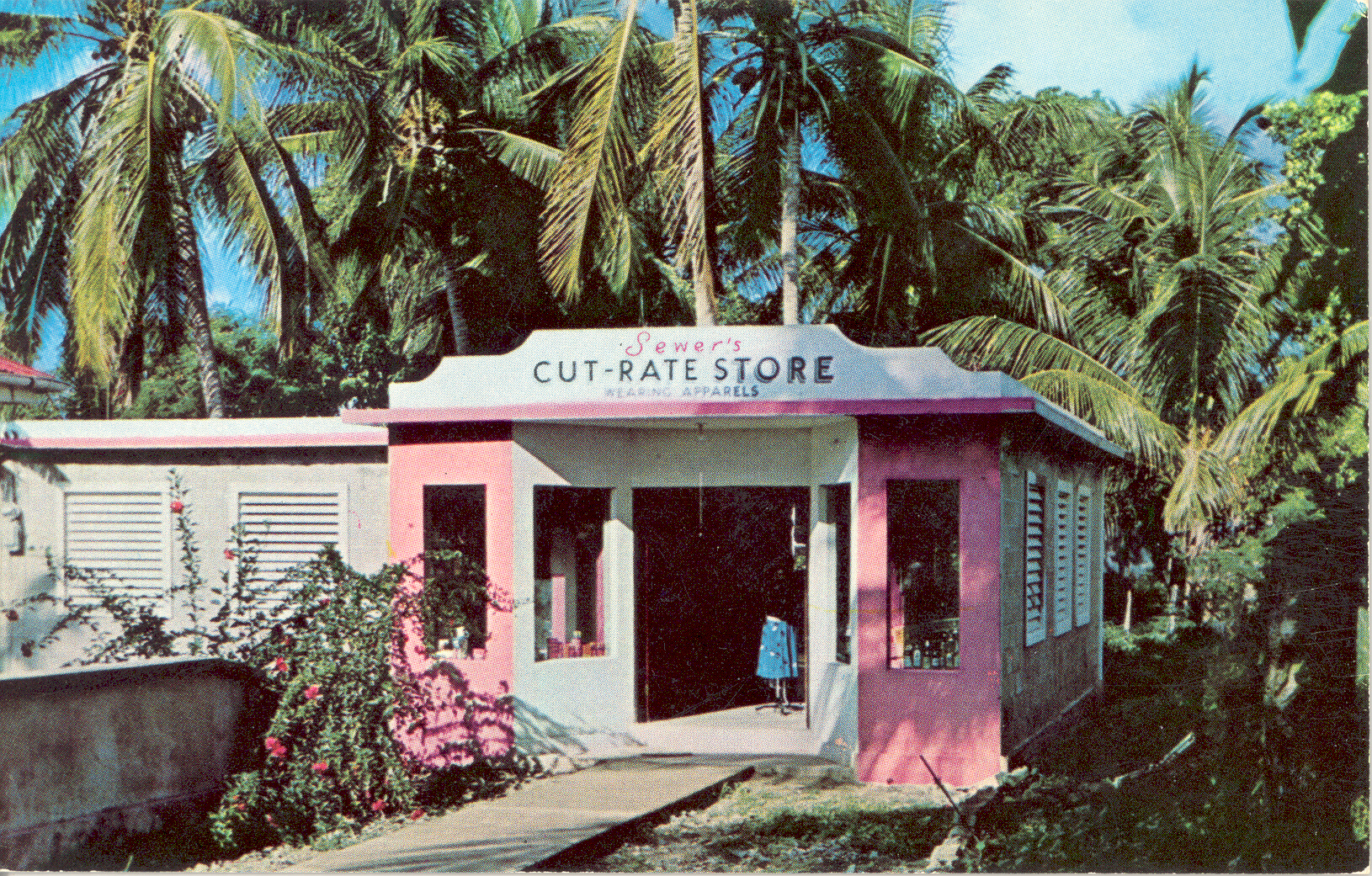 Sewer's Store c1960s